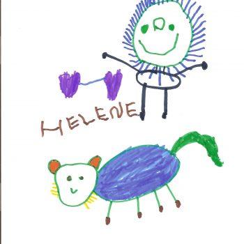 Helene I 4 Jahre