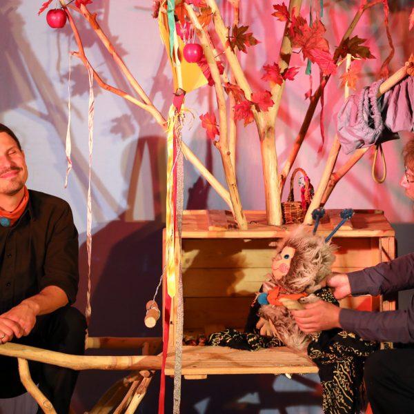 Puschel feiert ein Herbstfest I Foto: Daniel Koch